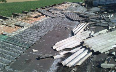 Smaltimento amianto tetti e coperture