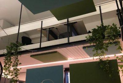 Pannelli fonoassorbenti divisori in ambiente open space