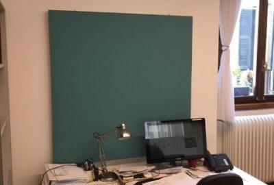 Assorbimento acustico ufficio