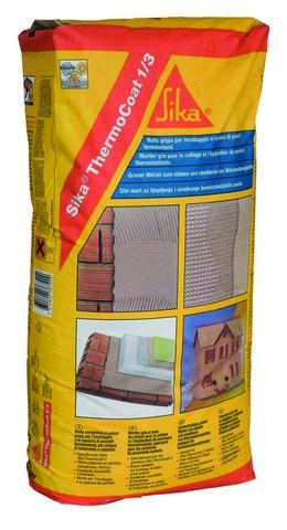 Sika ThermoCoat 1/3 colla per Isolamento termico a Cappotto