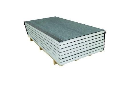 Lastra EPS accoppiata con guaina ardesiata per isolamento termico tetti e coperture