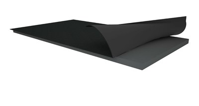 Lastra EPS con grafite accoppiata con guaina ardesiata per isolamento termico tetti e coperture