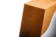 Pannello isolantte in fibra di legno per isolamento termico a cappotto Naturawall