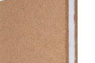 Pannello sandwich in fibra di legno e fibra poliestere per isolamento acustico pareti