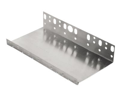 Profilo partenza in alluminio con gocciolatoio per sistemi isolamento a cappotto