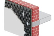 Sistema per isolamento termico a cappotto SpideREX K8