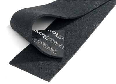 Striscia sottoparete in gomma per isolamento acustico stywall