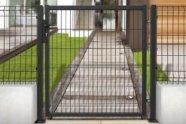 Cancello Barent pedonale verniciato antracite larghezza 885 mm