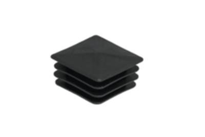 Copripalo in PVC nero 50X50 mm per palo Post Barent