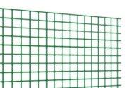 Rete elettrosaldata plastificata verde maglia 13x13 mm Voliplast
