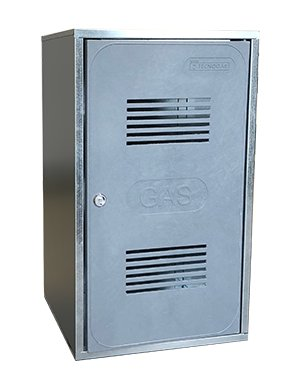 Cassetta contatore gas conforme alla norma UNI 9036:2015
