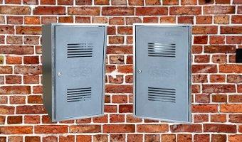 Cassetta e sportello per contatore del gas conformi alla norma UNI 9036:2015
