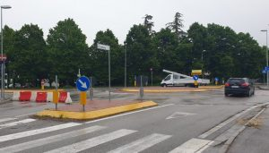 Deviazione per via dell'Artigianato - Rotonda via Belisario - via Ronchi