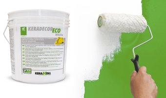 Pittura per interni Keradecor Eco White 14l Kerakoll - Colorificio Padova
