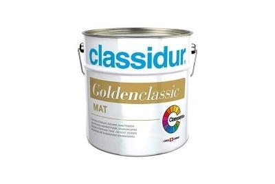 Pittura per interni coprimacchia a solvente Classidur Golden Classic bianca opaca