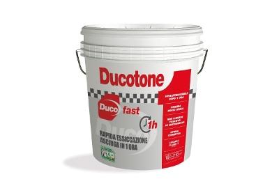 Pittura per interni superlavabile Ducotone Fast a rapida essicazione bianca o colorata
