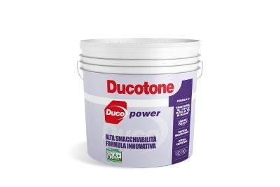 Pittura smacchiabile per interni Ducotone Power bianca o colorata