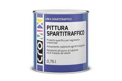 Pittura spartitraffico CROMIX a solvente per segnaletica orizzontale