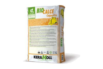Adesivo e rasante naturale di calce Biocalce Cappotto 25 kg