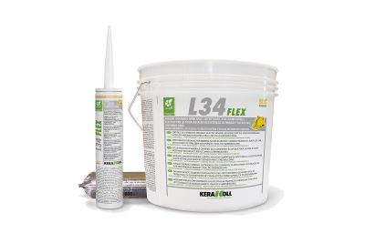 Colla per pavimenti in legno e parquet L34 Flex colore chiaro 6 kg