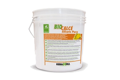 Intonachino naturale Biocalce Silicato Puro bianco varie granulometrie