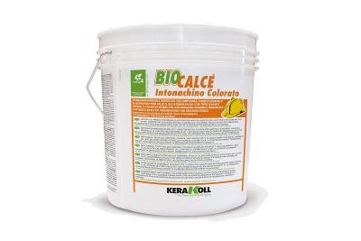 Intonachino naturale a calce Biocalce Intonachino Colorato varie granulometrie bianco o colorato