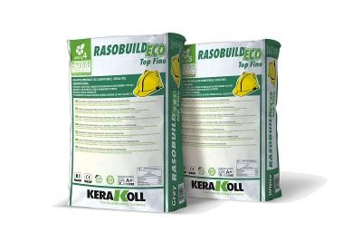 Intonachino rasante per tutte le superfici Rasobuild Eco Top Fino bianco 25 kg