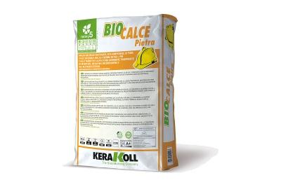 Malta naturale di calce traspirante Biocalce Pietra 25 kg