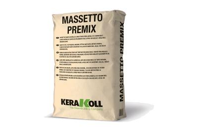 Massetto minerale Massetto Premix grigio 25 kg per la preparazione di fondi di posa