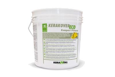 Pittura acril-silossanica superlavabile Kerakover Eco Kompact Pittura bianca o colorata