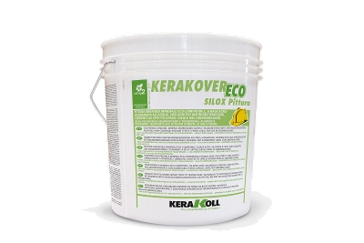 Pittura silossanica superlavabile traspirante Kerakover Eco Silox Pittura bianca o colorata