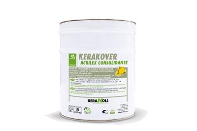 Primer fissativo acrilico in solvente Kerakover Acrilex Consolidante per superfici friabili