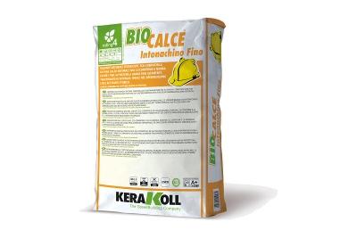 Rasante naturale di calce traspirante Biocalce Intonachino Fino 25 kg