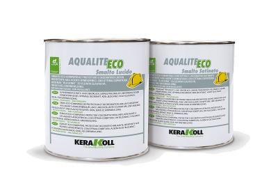 Smalto all'acqua Aqualite Eco Smalto Lucido bianco o colorato