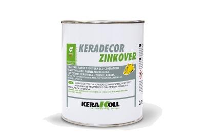 Smalto protettivo Keradecor Zinkover bianco per superfici zincate